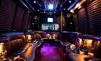 18 people party bus rental Portland