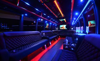40 passenger party bus rental Portland